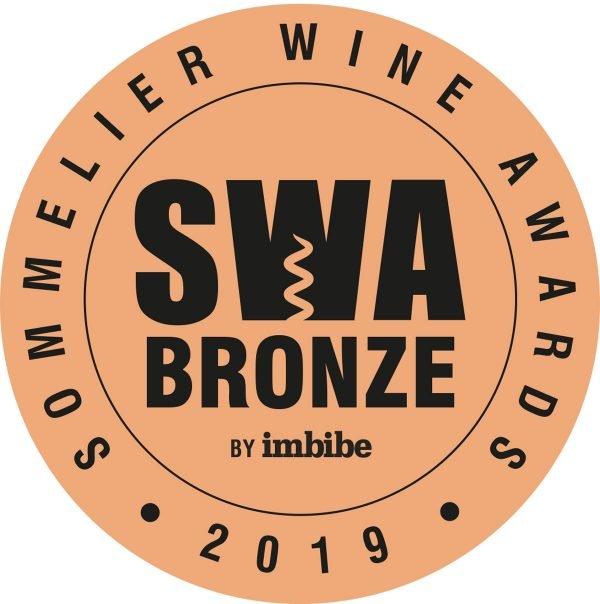 Sommelier Wine Awards 2019 - Bronze Medal for Oastbrook 2014