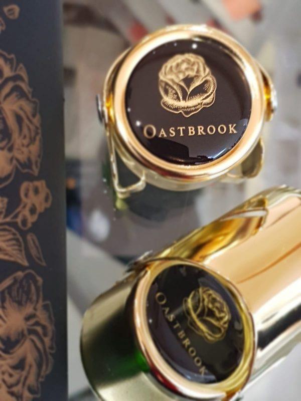 Oastbrook branded sparkling wine stoppers