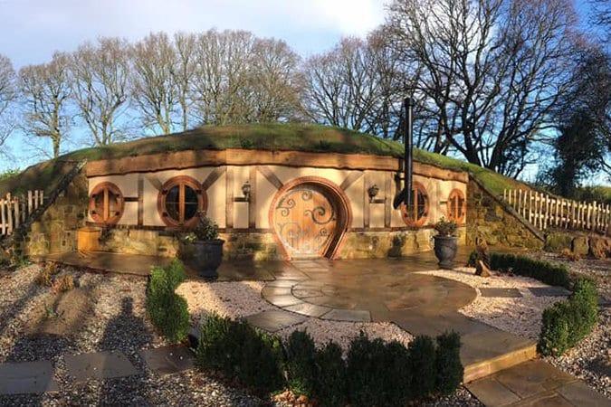 Hobbit House Vineyard Retreat at Oastbrook Estate in Sussex